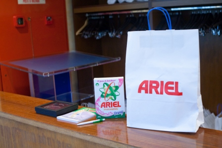 Article Promotionel Ariel